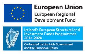 European Regional Development Fund Logo Stacked